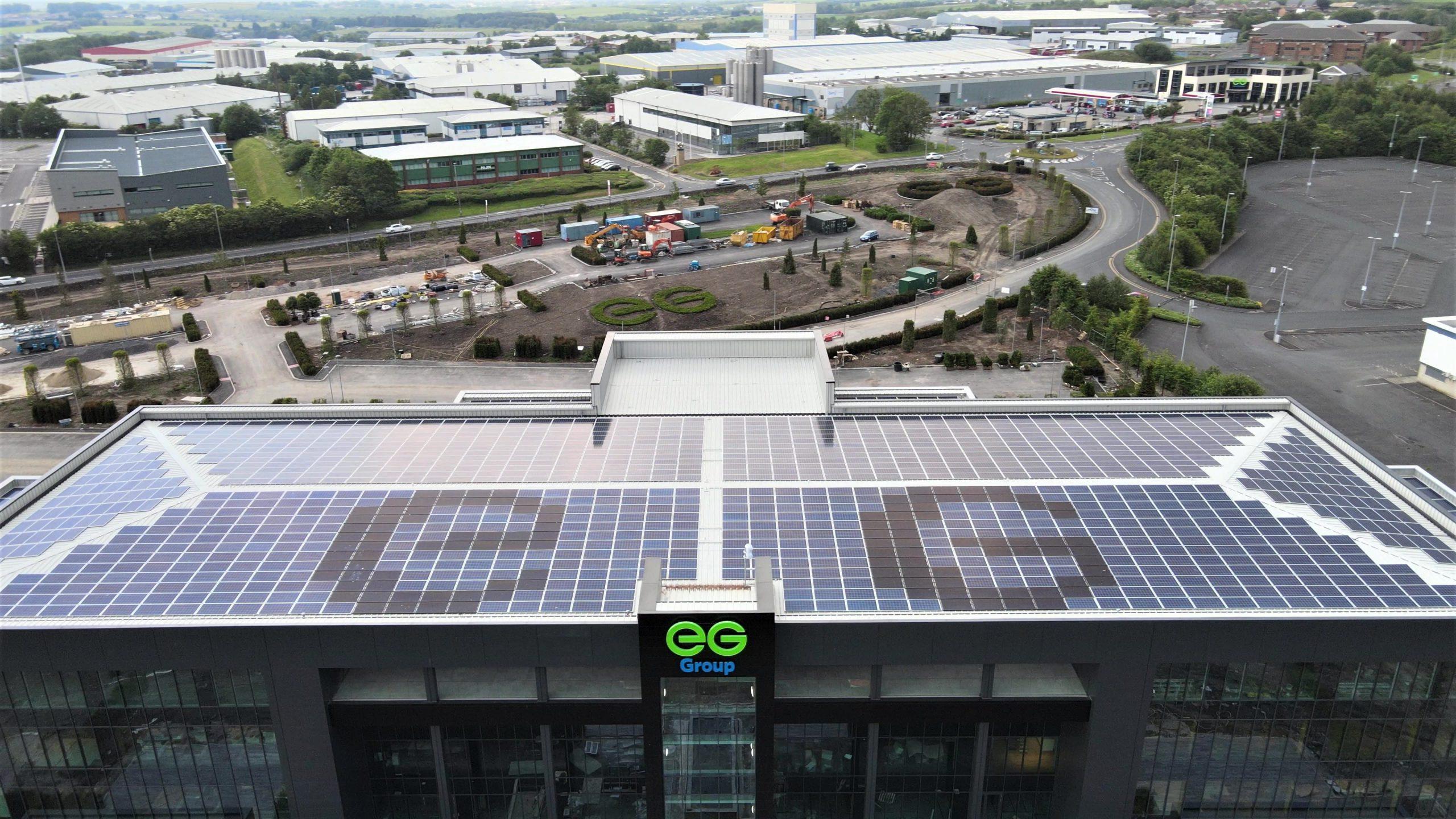 Euro Garages Head Office Solar Installation by U Energy Solar UK