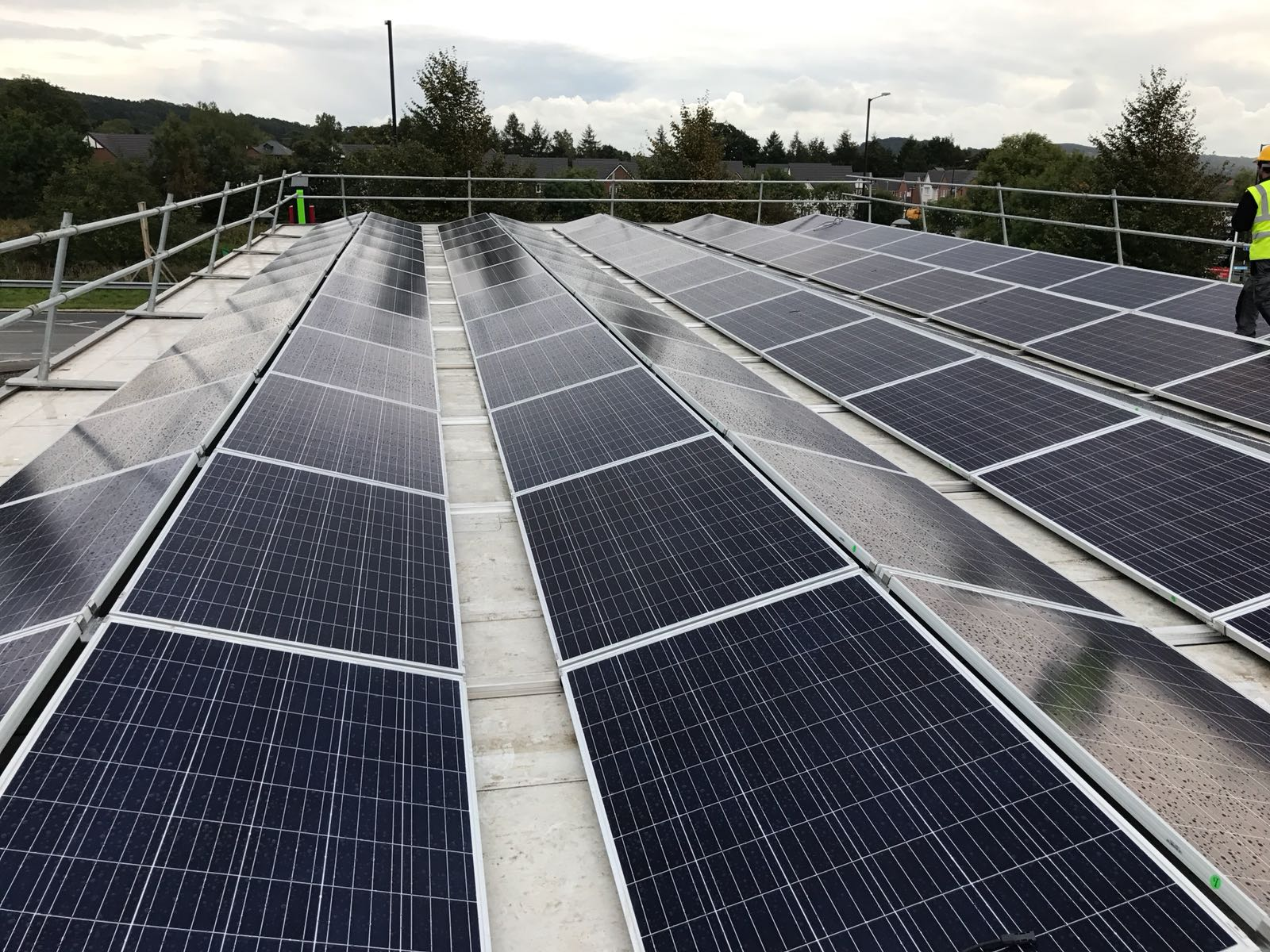 KFC Farnworth Bolton - Solar PV System - U Energy Solar UK